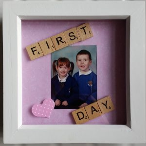 First Day Mini Photo Frame