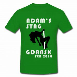 'Gdansk Style' Stag Do T-Shirt