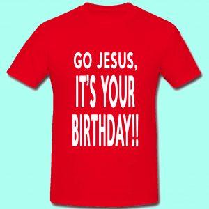 Go Jesus!