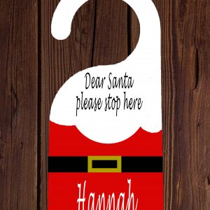 Santa Suit Door Hanger