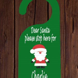 Kids' Christmas Door Hanger