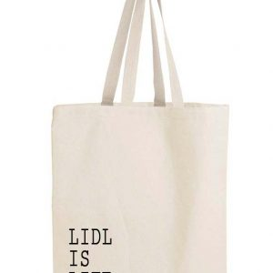 Lidl is life bag