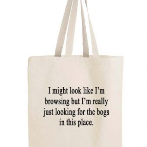 Just-browsing bag