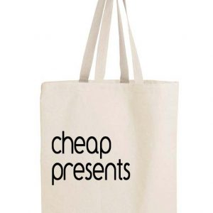Cheap Presents gift bag