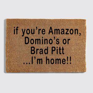 Amazon doormat
