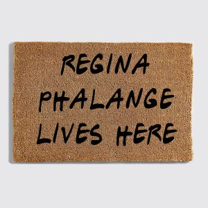 Regina Phalange doormat