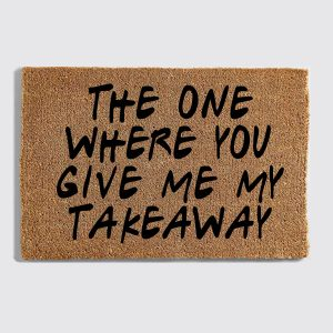 Friends Takeaway Doormat