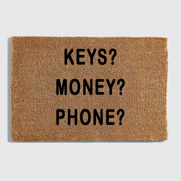 keys money phone