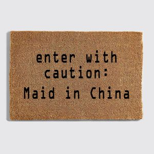 Maid in China Doormat