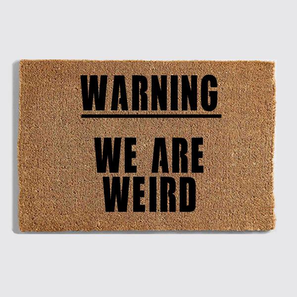 we are weird